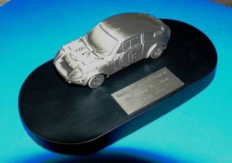 Pewter Le Mans 1966 car